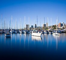 Sail Boats Rushcutters Bay by Beth  Morley