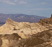 Manley Beacon - Death Valley, California by Kent Burton