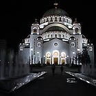 The Orthodox Temple of Saint Sava Belgrade by Aleksandar Topalovic