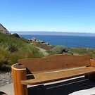 Timber Cove Inn - bench along the cliff by LindaJBazor