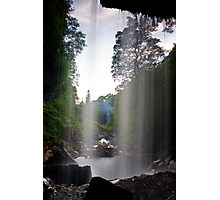 Behind the Water Curtain Photographic Print