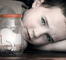 A Boy and His Spider by micklyn