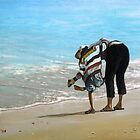 Sandy Shoes by bryanhibleart