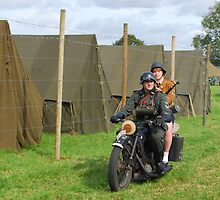 On yer bike by Tony Dewey