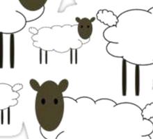 Flock Off Sticker