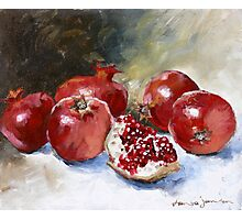 Pomegrante Photographic Print