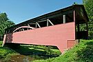 The Buckhorn Covered Bridge by Gene Walls