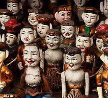 Water Puppets - Hanoi, Vietnam by Alex Zuccarelli