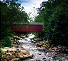 McConnell's Mill - Covered Bridge by LocustFurnace