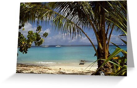 Tahitian beach by solena432