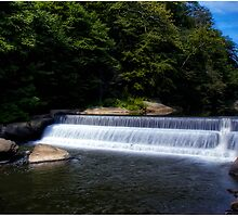 McConnell's Mill Dam by LocustFurnace
