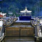 Landscape Panama Canal by Peter  Downing