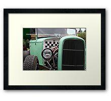 Green Rat Envy Framed Print
