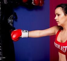 Boxing Girl by Tim Miller