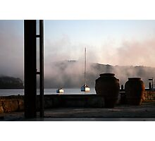 Yachts and Pots Photographic Print