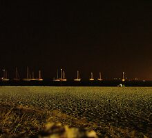 "night beach by Antonello Incagnone ""incant"""