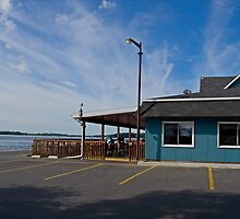 The Blue Anchor Bar and Grill by Mike Oxley