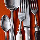Sterling Cutlery  II by Klaus Boekhoff