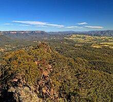 Megalong Valley by DavidIori