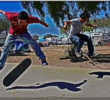 Skater Boyz by Chet  King