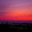 A Fall Sky by Larry Llewellyn