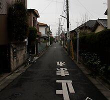 Street in Mitaka, Tokyo, Japan by Michelle Dewis