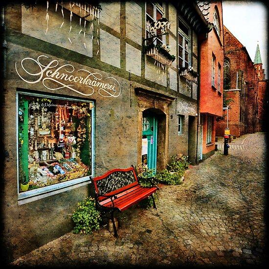 Schnoor Shop Window by Manfred Belau