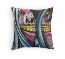 THE MIDNIGHT HOUR ( Detail # 7 ) Throw Pillow