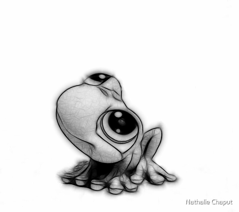 Little frog quot by nathalie chaput redbubble