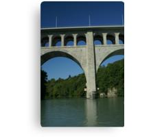 Butin bridge Canvas Print