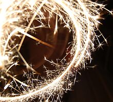 Spiraling Sparks by gabboud