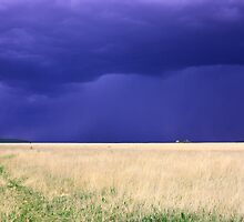 Storm on the Santa Fe Trail by TWindDancer