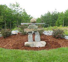 Nova Scotia Inukshuk by stonemedium