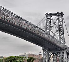 Williamsburg Bridge by joan warburton