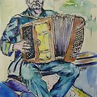 accordian player by christine purtle