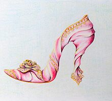 Silk Slipper by Sally King