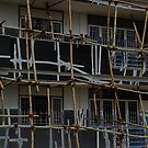 Bamboo Scaffolding, Jaipur by Fossdos