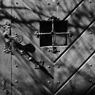 The shadowed door by ragman