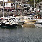 Padstow harbour by Steve plowman