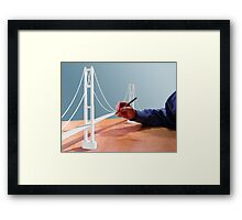 Draw Bridge Framed Print