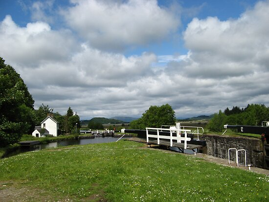 Crinan Canal, Scotland ~ Straight from the Camera by artwhiz47