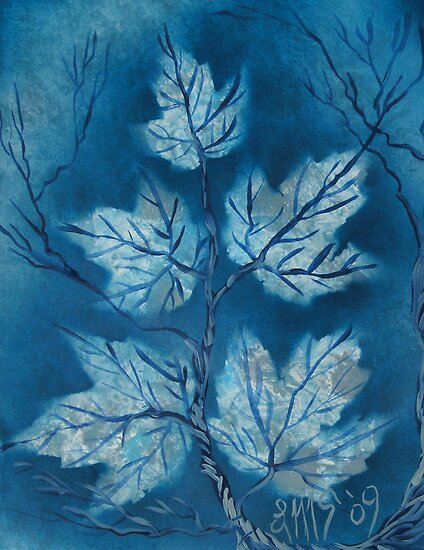 September Sapphire Maples by linmarie