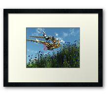Robort's Flying Machine Framed Print