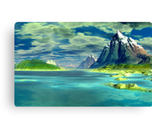 Mouth of the Sharrosflow Canvas Print