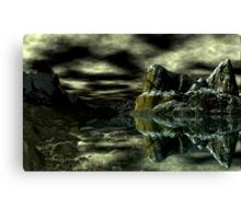 Dark Pool Canvas Print