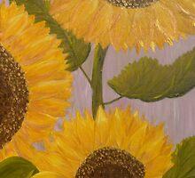 Sunflowers by Angela Palibrk