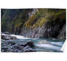 West coast river Poster