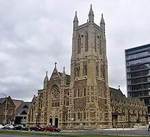 St Francis-Xavier-Cathedral.    Adelaide.   SA. by wotzisname