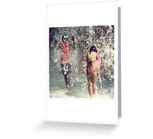 Shower Greeting Card