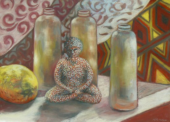 still life from the sculpture cupboard by maria paterson